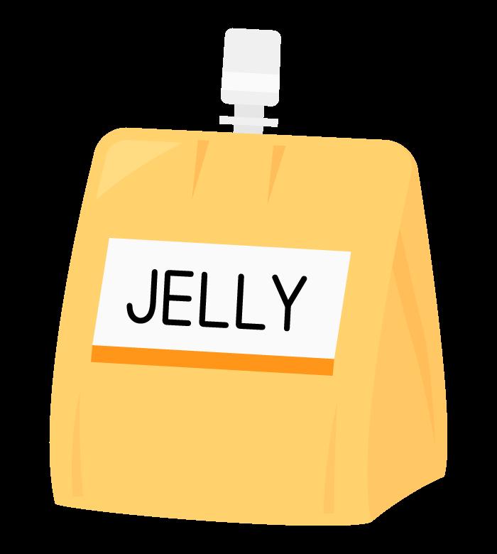 ゼリー飲料のイラスト