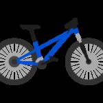 マウンテンバイク/MTBのイラスト