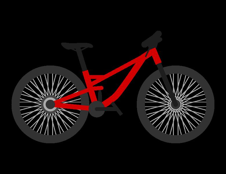 マウンテンバイク/MTBのイラスト02