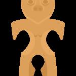 土偶のイラスト02