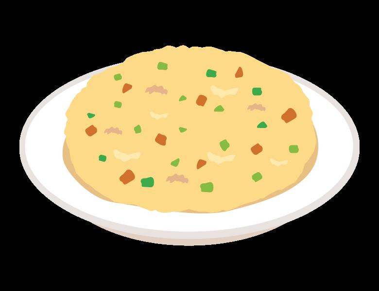 炒飯/チャーハンのイラスト