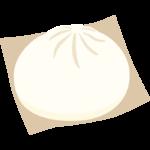 肉まん/中華まんのイラスト