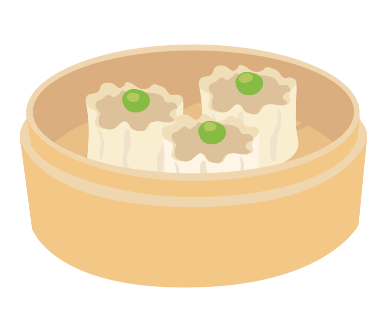 焼売/シウマイのイラスト