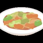 回鍋肉/ホイコーローのイラスト